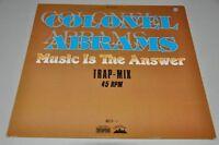 "Colonel Abrams - Music is the answer - 12"" Maxi-Single Vinyl Schallplatte LP"
