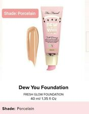 TOO FACED Tutti Frutti Dew You Full Coverage Foundation Full Size PORCELAIN $36
