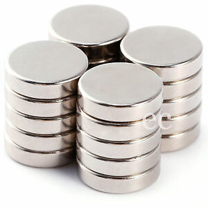 12mm x 5mm Very Strong 12 Dia 5mm Thick Cylinder Neodymium Disc Round Magnets