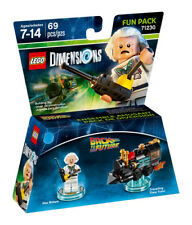 Lego Dimensions Back to The Future Doc Brown Fun Pack (71230)