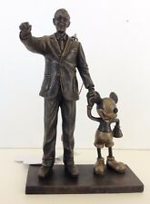 "Disney Parks Walt Disney and Mickey Mouse ""Partners"" Statue Figurine Ornament"