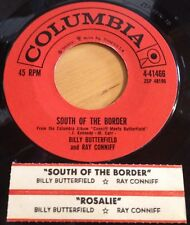 Billy Butterfield Ray Conniff 45 South Of The Border / Rosalie  w/ts