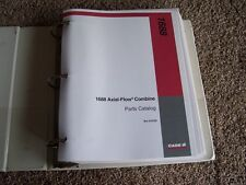 Case International Harvester Axial Flow Combine 1688 Parts Catalog Manual