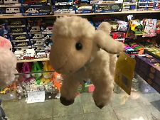 "LOVELY SOFT SHEEP LAMB 9"" SOFT TOY PLUSH WEARING BLUE BOW NEW TAGS EASTER"