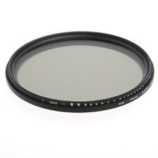 55mm Fader Adjustable Variable ND Filter Neutral Density ND 2 to ND 400 VND