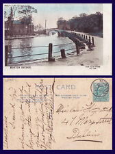 UK LANCASHIRE MONTON BRIDGE 1904 TO BESSIE FITZPATRICK, 47 MARY STREET, DUBLIN
