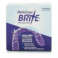 Retainer Brite 36 & 96 Cleaning tablets (Unboxed)