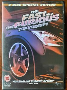 Fast and the Furious Tokyo Drift DVD 2006 Action Car Chase Crime Movie 3 2 Discs