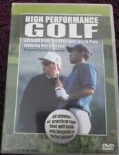 High Performance Golf (DVD) SPORT*LESSONS FROM PRO WHO TEACH FEAT BUTCH HARMON