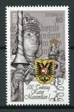 Austria 2019 MNH Emperor Maximilian I 500th Mem 1v Set Historical Figures Stamps