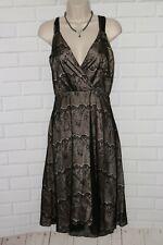 Self Esteem Sz 7 Black Lace V-Neck Semi Formal Dress