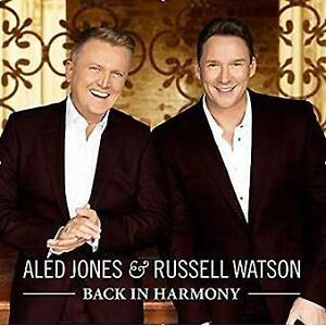 Aled Jones & Russell Watson Back in Harmony Digipak CD NEW