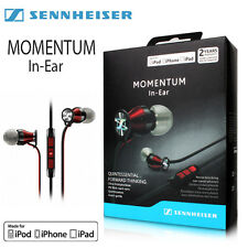 Sennheiser M2IEi Momentum In Ear Headphones for Apple iPhone New Red