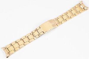 Rolex 18k Gold Plated 78351 Oyster Bracelet 19 mm 457 Ends Rolex 1550 1024