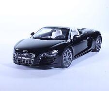 TC17 New Audi R8 Spyder Sport Coupe Black 1:18 1/18 Diecast Toy Model Car Kyosho