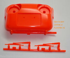 New Tamiya Blitzer Beetle Replacement Orange Nose Cone with Wipers