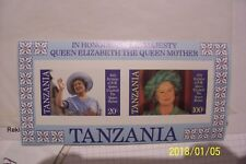 Quality Tanzania 634-641 Mnh 1990 Extinct Animals 9082334 Excellent In
