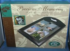 Precious Memories Sara D Ward Collection Wooden Photo Frame Serving Tray NIB