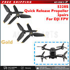 4pcs For FPV Drone Quadcopter Quick Release 5328S Propeller 3-leaf Paddle Gold