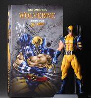"""DC Comics Marvel Legends Universe X-Men Wolverine Action Figure 12"""" PVC Statue"""