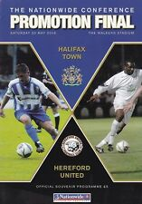 2006 CONFERENCE PLAY-OFF FINAL - HALIFAX TOWN v HEREFORD UNITED