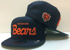 Chicago Bears New Era 9FIFTY Snapback Cap Hat Christmas Vacation Historic Script