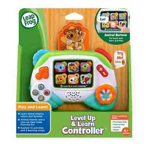 Leap Frog Level Up and Learn Controller Educational Infant Gaming Learning Toy