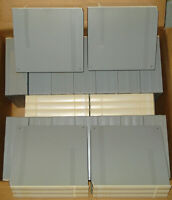 Lot of 20 Triple BASF Grey Reel-to-Reel Plastic Cases (holding 3 tapes each)