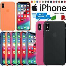 Originale Cover Per Apple iPhone 11 Pro X XR XS Max 8 7 6 Custodia Slim Silicone