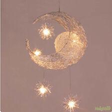 Moon & Star Children's room LED Pendant Lamp Chandelier Suspension Lights New