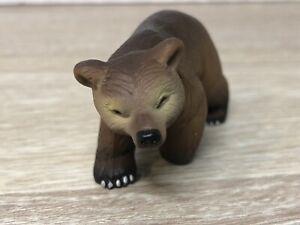 2005 Papo PYRENEES BROWN BEAR CUB #50031