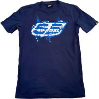 55DSL Mens T Shirt Small Blue Logo Graphic Tee