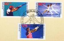 Berlin 1988: Olympische Spiele! Sport Nr. 801-803 mit Ersttags-Sonderstempel! 1A