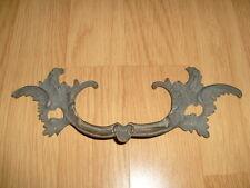 1 Poignée Déco Feuille d'Acanthe  en Laiton ou Bronze pour Meuble ou autres