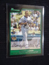 Matt Kemp 2006 Bowman Draft Rc #BDP1