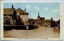 CP 58 NIEVRE - Alligny-en-Morvan - Vue sur l'Eglise