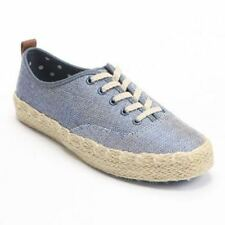 NIB Women's Blue Aiden SONOMA life + style Oxford Shoes Sneakers, 8 M, FREE S&H