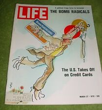 LIFE MAGAZINE MARCH 27 1970 BANKRUPTCY LOFT LIVING NEW YORK ARTISTS EASY RIDER