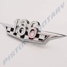 186 Boot Badge , Chrome , Brand New for HR Holden