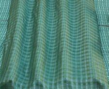 "Green Silk/Viscose Window PaneSilk Fabric, 54"" Wide, By The Yard (17197F)"