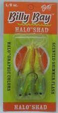 Betts 888-8-3-10 1/8 Oz Billy Bay Halo Shad Chartreuse 20690