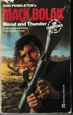 Executioner #95: Blood and Thunder - PB 1986 - Don Pendleton - Mack Bolan
