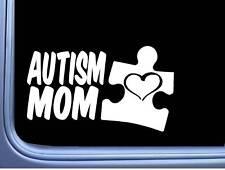 Autism Mom M372 8 inch Sticker Decal autistic puzzle piece awareness