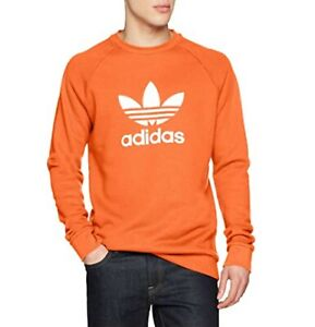 Adidas Original Men's Trefoil SWEATSHIRT Crew Neck Jumper Sweater S M L XL