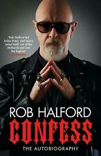 Confess by Rob Halford (English) Paperback Book Free Shipping!