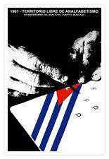 "Cuban movie Poster 4 film""Free TERRITORY Cuba""Castro.Communism.Socialist art"