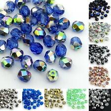 40x Preciosa Glasschliffperlen 6mm feuerpoliert Glasperlen Perlen Schmuckperlen