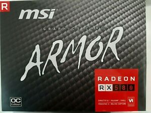 MSI Radeon RX 580 GAMING X 8G Graphic Card Fast Shipping
