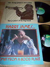 TWO Harry James AUDIOPHILE DIRECT TO DISC Records NEAR MINT King James/Comin' Fr