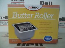 *NEW* WINCO SPBR-604 STAINLESS STEEL BUTTER ROLLER